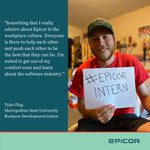 We're getting ready for #NationalInternDay July 29 by highlighting some of our talented interns. Check out our #TeamEpicor interns and what they have to say about their #EpicorIntern experience.