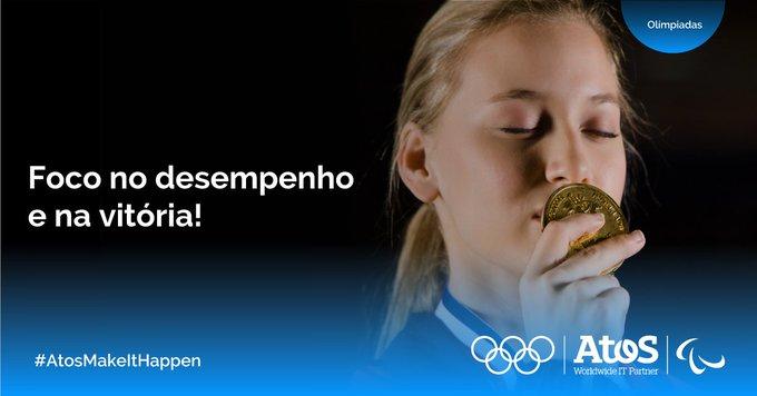 A tecnologia implementada pela Atos para o credenciamento nos jogos olímpicos simplifica a expe...