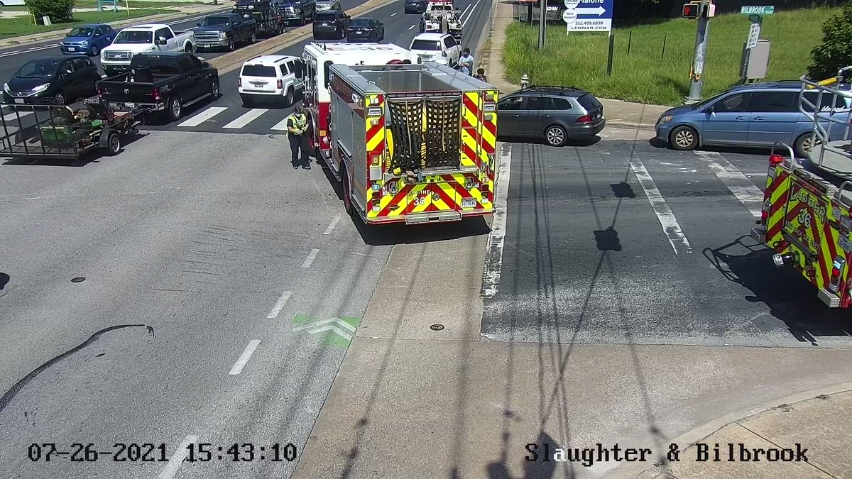 Crash at Slaughter and Bilbrook has cleared.  All lanes are now open.  #atxtraffic