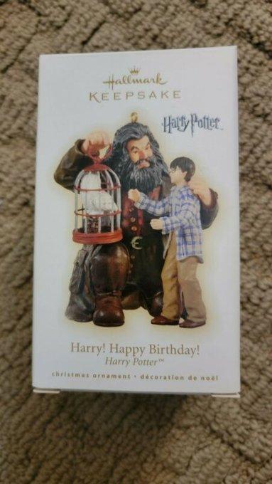 2009  Hallmark Keepsake Ornament Harry Happy Birthday