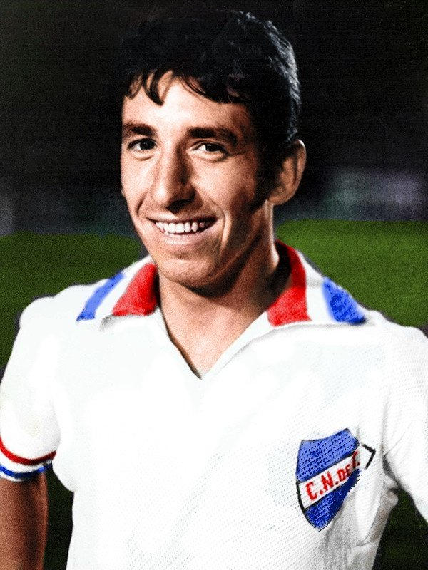 Victor Espárrago. Club Nacional de Football.