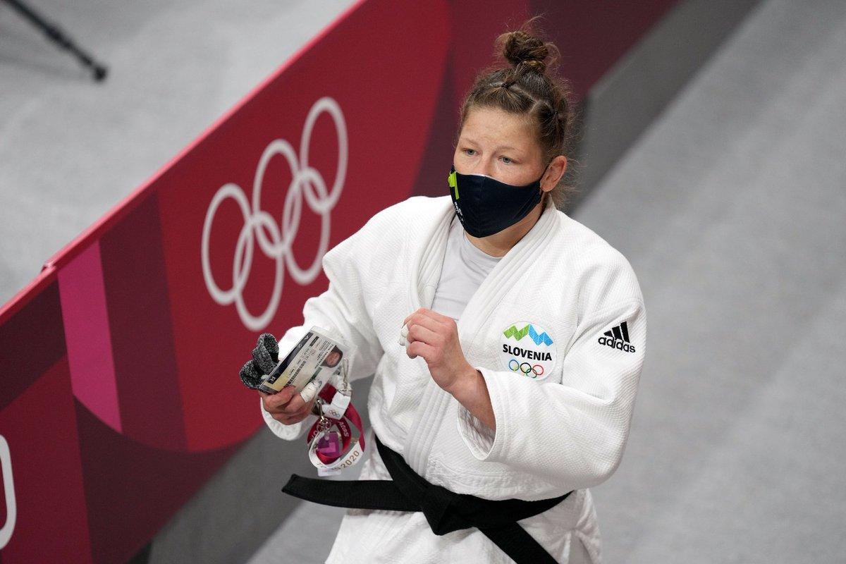 Čestitke, Tina. 👍🇸🇮 @judoSLO @Tokyo2020