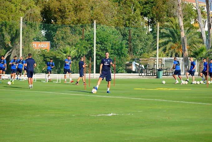 Segundo día de entrenamientos en Marbella.☀️💪🏼