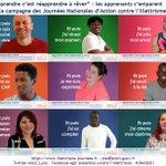 """Des apprenants choisissent leur """"Et puis..."""" et s'associent à la campagne """"Apprendre c'est réapprendre à rêver"""" des Journées Nationales d'Action contre l'Illettrisme 2021 #jnai2021 >> https://t.co/0b7sLfWApM >> https://t.co/IpdzCxaGCw"""
