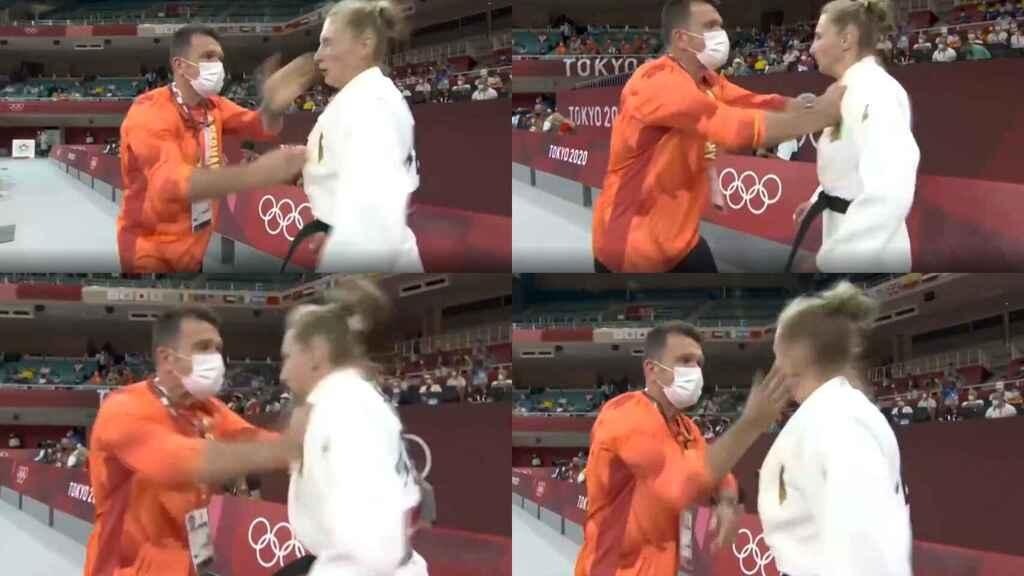 🎥  El viral calentamiento de Martyna Trajdos: su entrenador está de moda en Tokio 2020