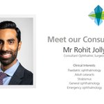 Image for the Tweet beginning: Mr Rohit Jolly is our