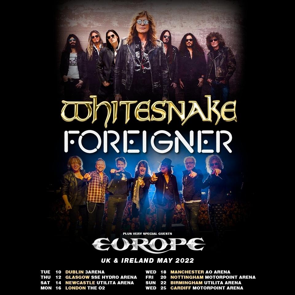 Whitesnake News Report