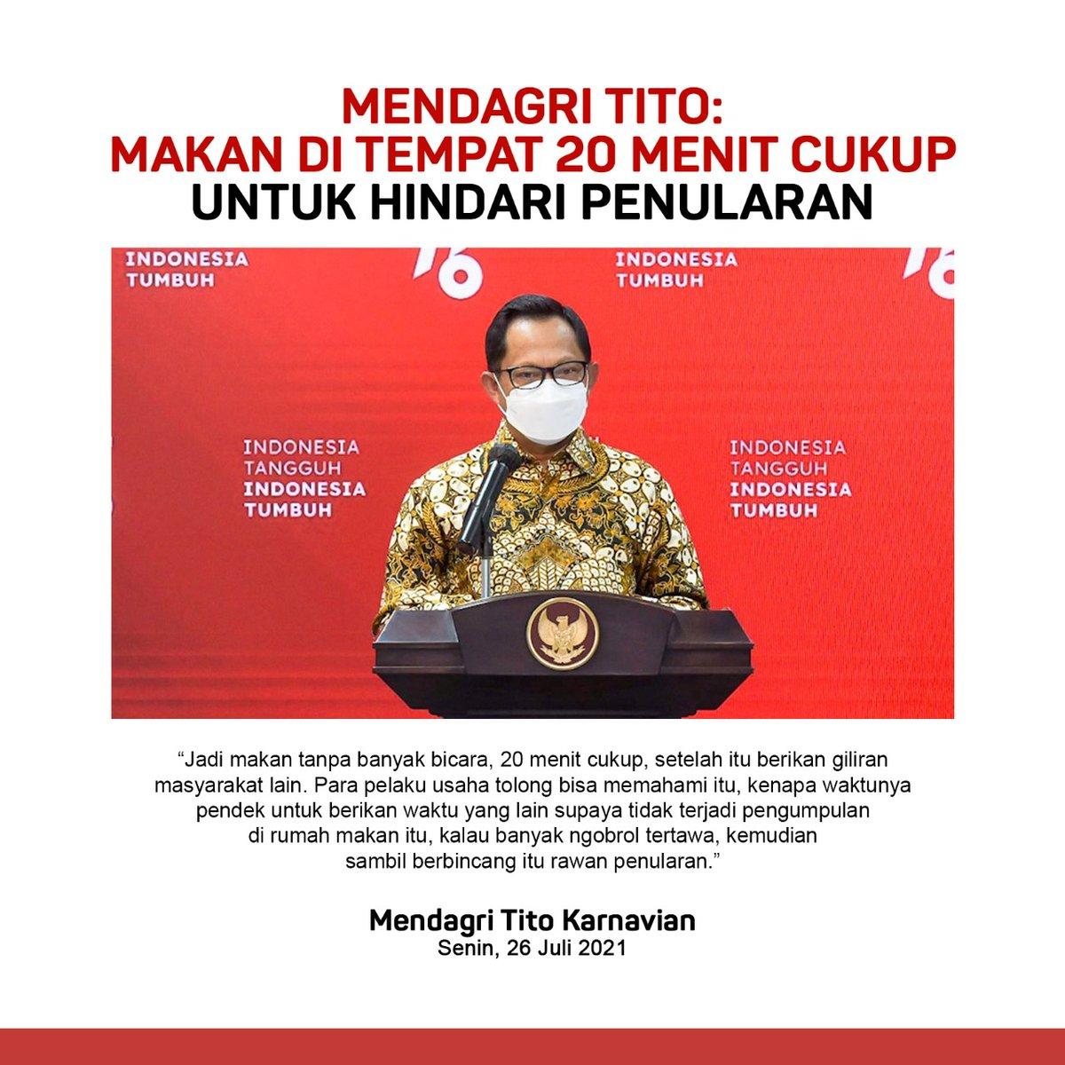 @kemendagri  Makan di tempat 20 menit cukup utk menghindari penularan lebih luas https://t.co/DlaqQgG031