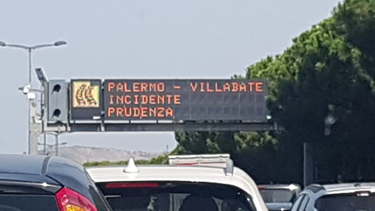 #notizie #sicilia Incidente sulla A-19 a Villabate, un ferito e traffico impazzito - https://t.co/NN6G1dAsKp