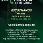 Image for the Tweet beginning: Te esperamos hoy a las