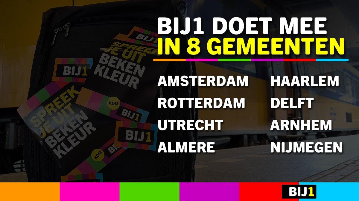 test Twitter Media - Wij feliciteren Amsterdam, Rotterdam, Utrecht, Almere, Haarlem, Delft, Arnhem en Nijmegen met hun deelname aan de verkiezingen van 2022! Voor ons is het nog te vroeg, de komende tijd gaan we de BIJ1 beweging in Hilversum en omgeving verder vergroten. https://t.co/3ORE3t7aFv