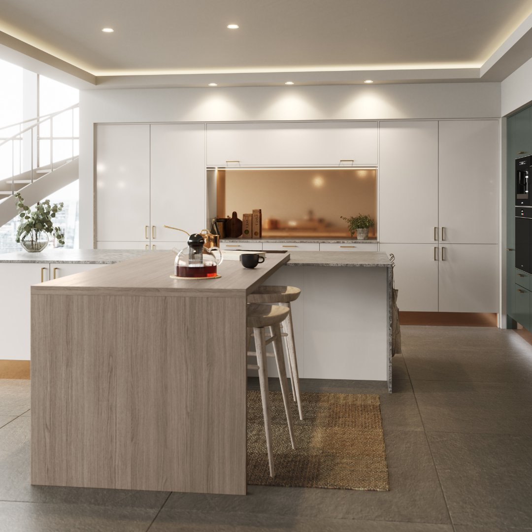We have five textured wood finishes to suit all kitchen styles, they can be used for worktops, doors, plinths or splashbacks. The choice is yours…
