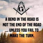 Image for the Tweet beginning: A bend in the road