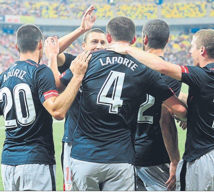 2017 el Athletic jugaba el partido de ida de primera ronda de UEFA en Bucarest frente al Dinamo....