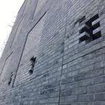 Image for the Tweet beginning: The external brickwork and #windowinstallation