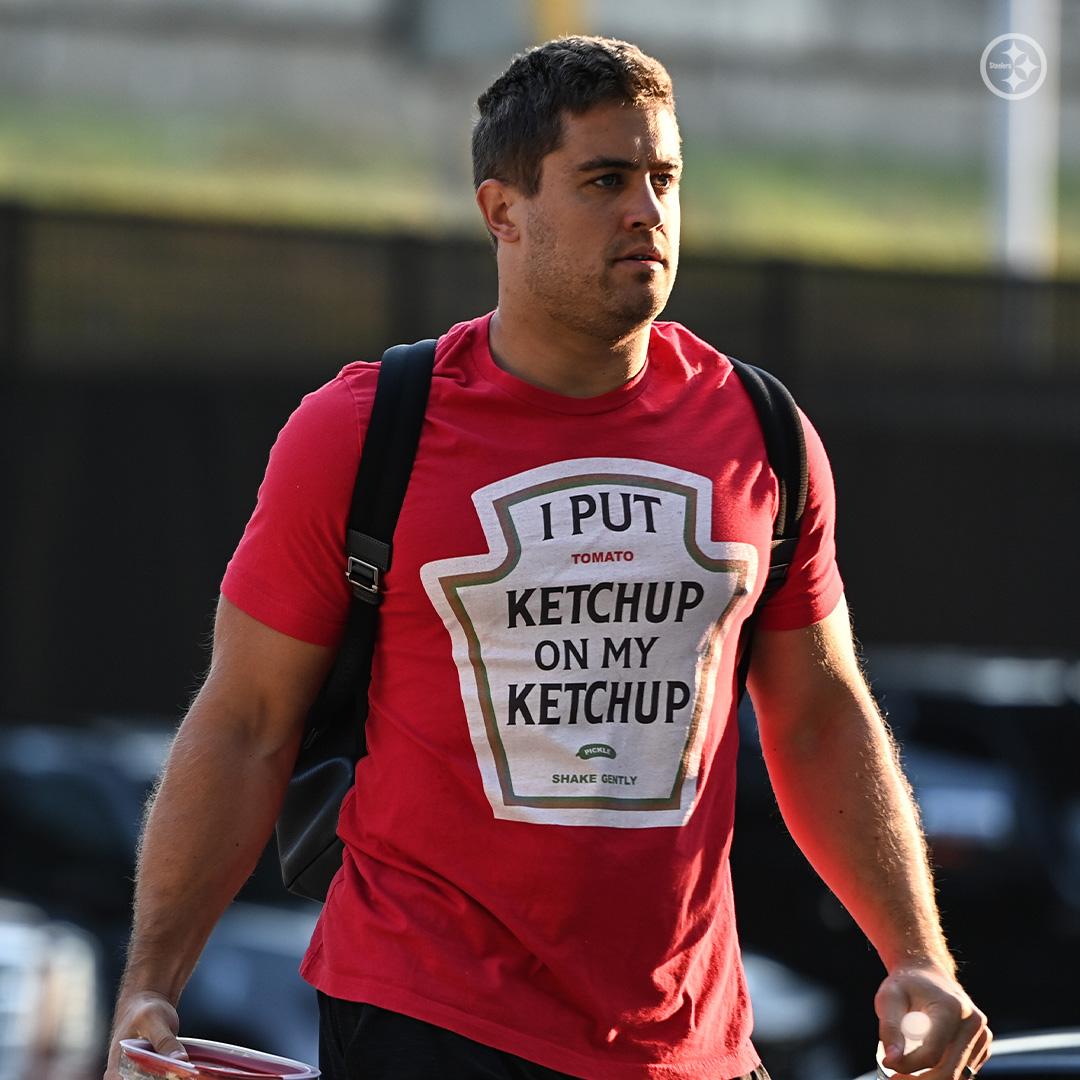 PHOTO: Derek Watt Wears The Most Pittsburgh Shirt Ever To Training Camp   iHeartRadio