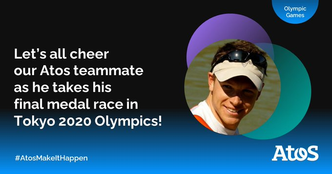Let's cheer on our Atos teammate Matthieu Androdias, who qualified for the Men's Double...