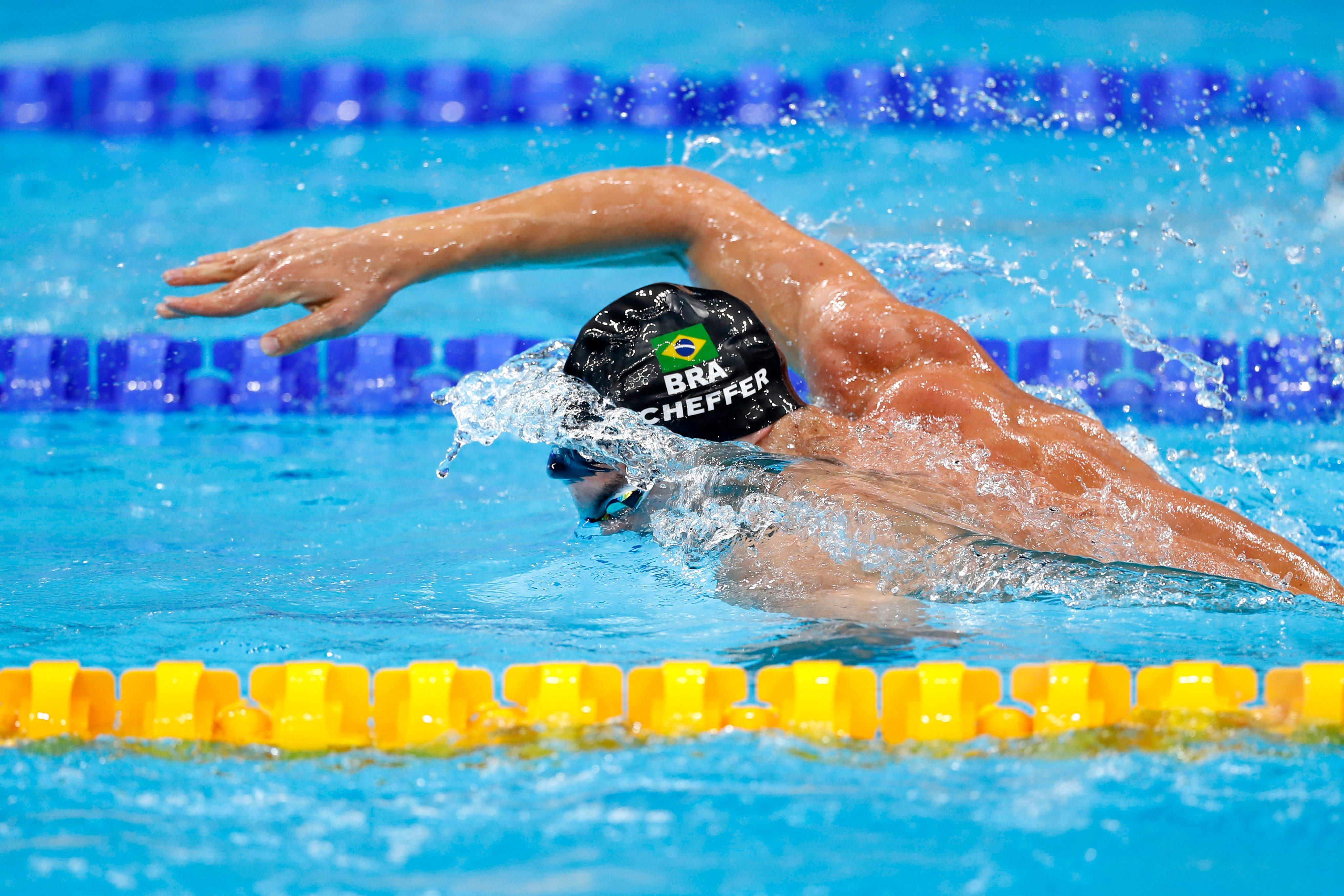 Cachorrão bate recorde continental e é finalista com 5º tempo;  4x200m também avança Jogos Olímpicos de Tóquio 2020