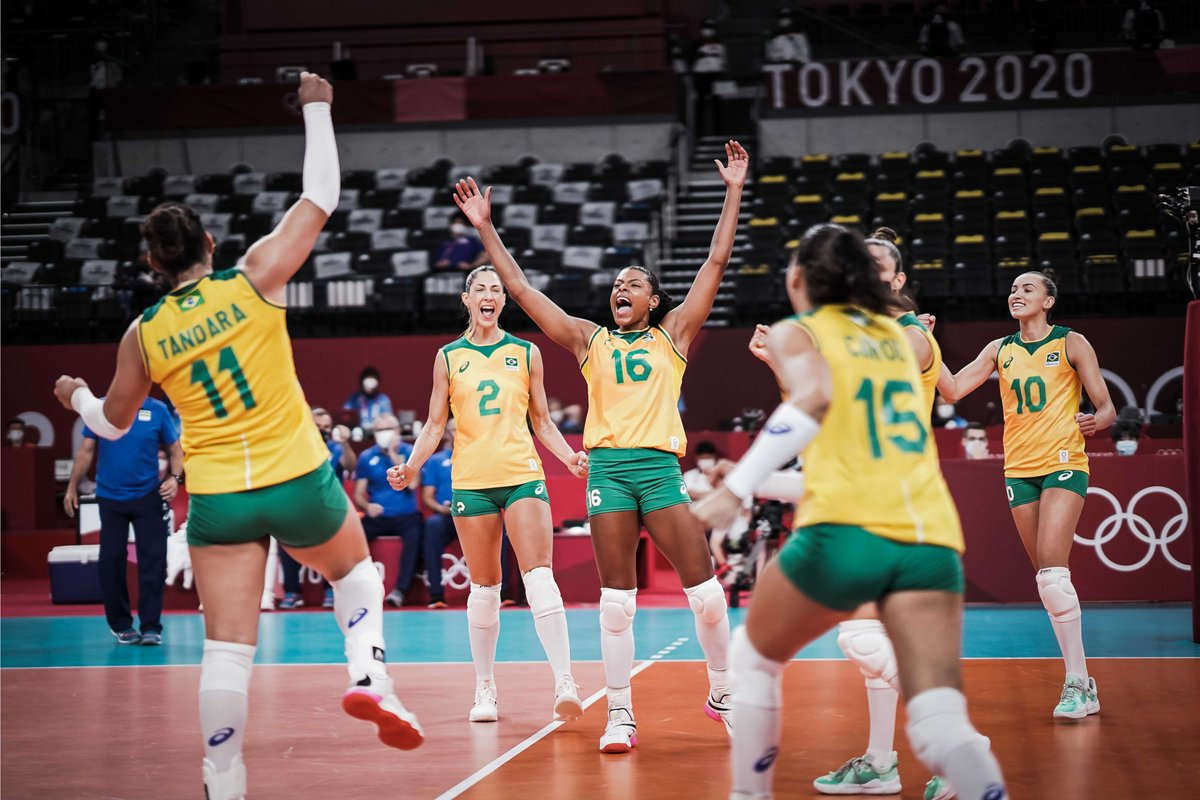 @timebrasil's photo on #Volleyball