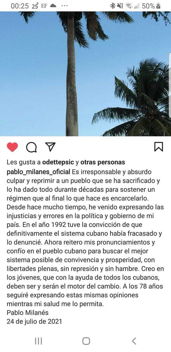 @ivonnemelgar Por su parte Pablo Milanes: https://t.co/CLF7wTp5tn
