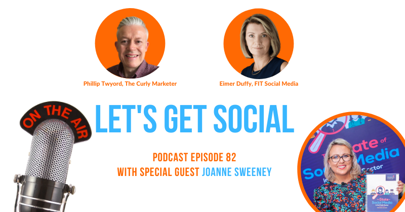 If you missed @JSTweetsDigital on the show last Friday, you can catch her on the podcast 😀🎙 #letsgetsocialshow #podcast
