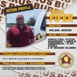 Image for the Tweet beginning: Meet #BurrusSeed summer intern Brock