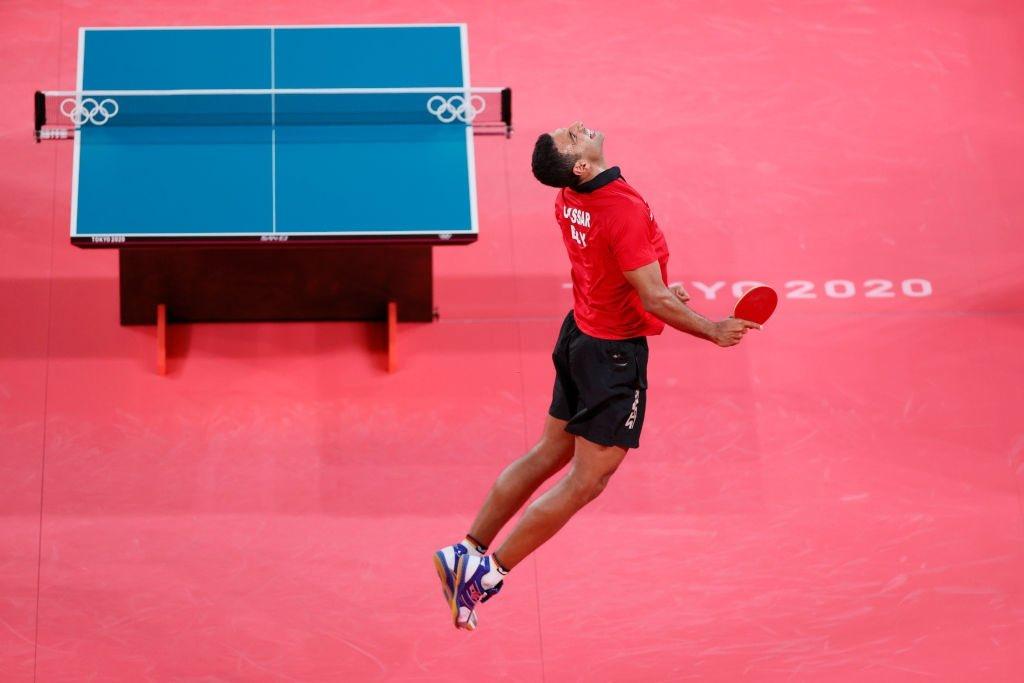 أولمبياد طوكيو - عمر عصر يحتفل بتأهله