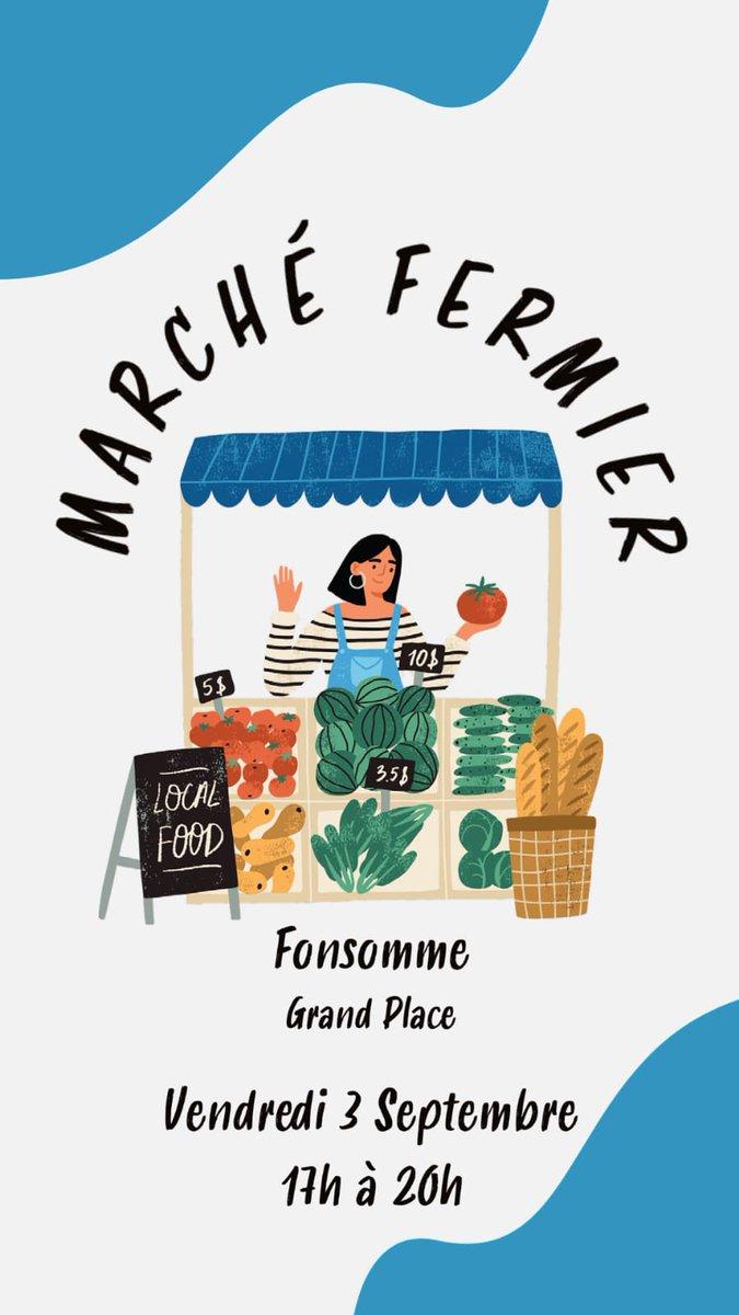 Avec caquette d'Adjoint au maire de Fonsomme, j'organise le premier marché fermier au nord de Saint-Quentin ! Une fierté Cc @AggloStQuentin @xavierbertrand @MacarezF @aisnenouvelle @CourrierPicard @viaMATELE https://t.co/hMXiqO2WWz