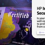 Image for the Tweet beginning: HP Indigo is at the
