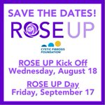 Image for the Tweet beginning: Mark your calendars for Rose