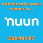 Image for the Tweet beginning: And the winner is...@Ab42187 for