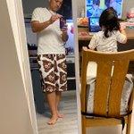 娘が「パパに絶対似合うから」と言って?ママにねだって買ってもらったズボンがこれ!