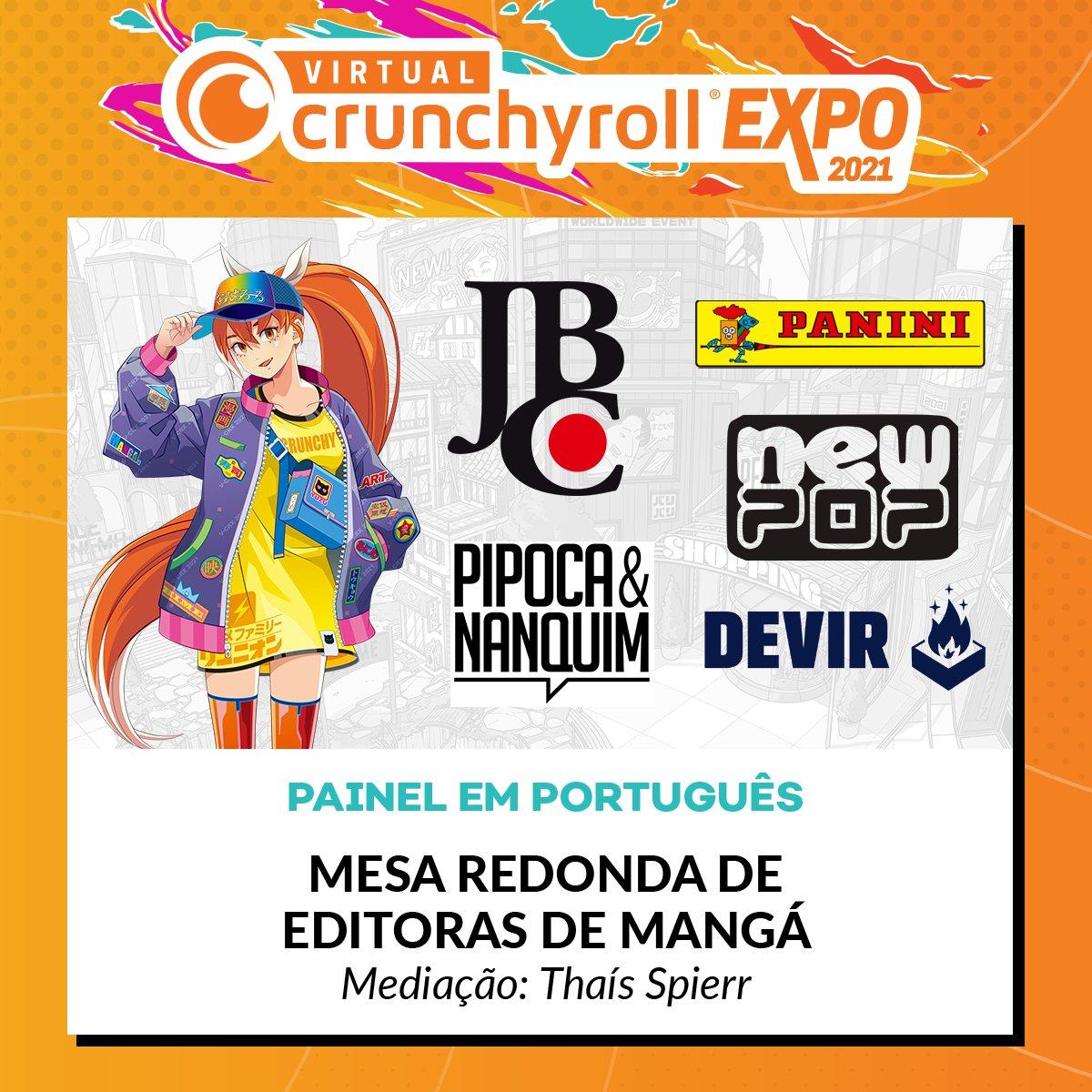 E7UL7vNXMAUxsHn?format=jpg&name=medium - Crunchyroll anuncia painéis para o público brasileiro no Virtual Crunchyroll Expo