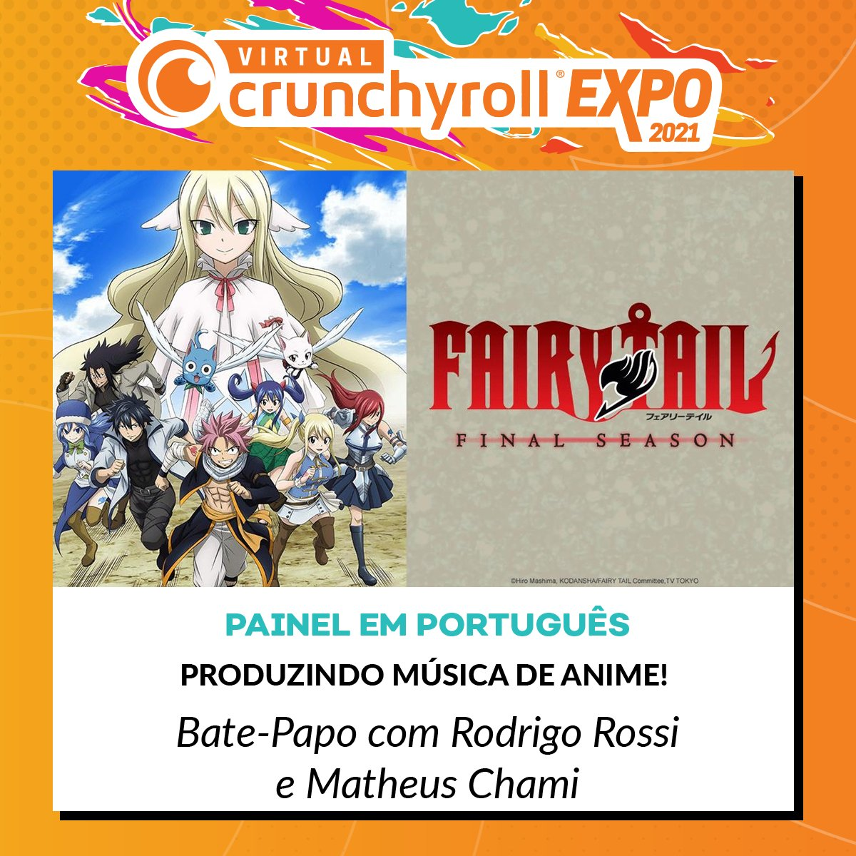 E7ULrNQWEAAb0 i?format=jpg&name=medium - Crunchyroll anuncia painéis para o público brasileiro no Virtual Crunchyroll Expo