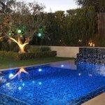 Image for the Tweet beginning: #repost @marcthomastile  A wonderful pool embellished