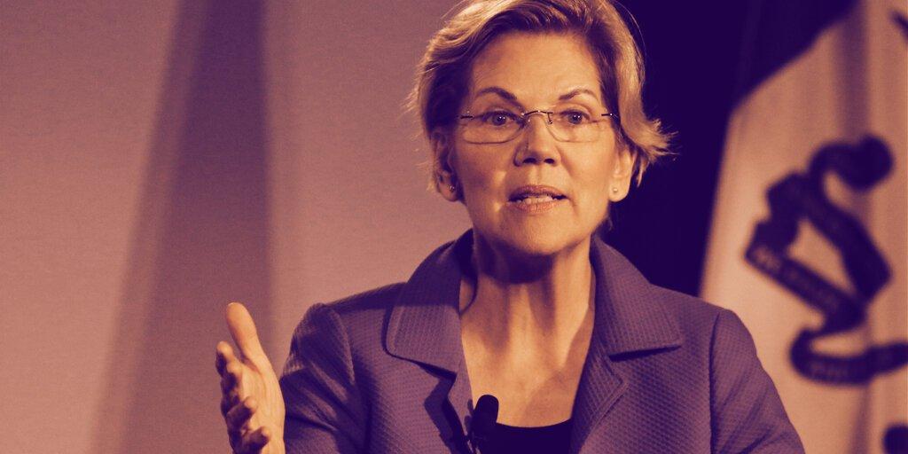 Senator Warren: Crypto Puts Financial System in the Hands of 'Shadowy Super-Coders'  ► https://decrypt.co/76997/elizabeth-warren-crypto-big-banks-shadowy-super-coders?utm_source=twitter&utm_medium=social&utm_campaign=auto