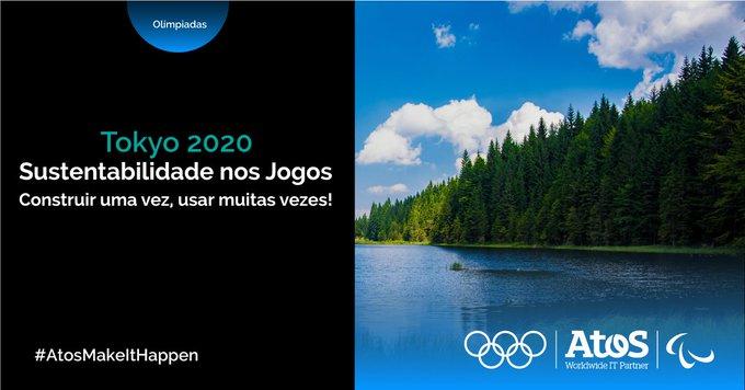 A Atos implementou um modelo de #nuvem sustentável aos #JogosOlimpicos permitindo que uma equip...