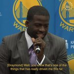 Image for the Tweet beginning: Golden State #Warriors: Dray's ...