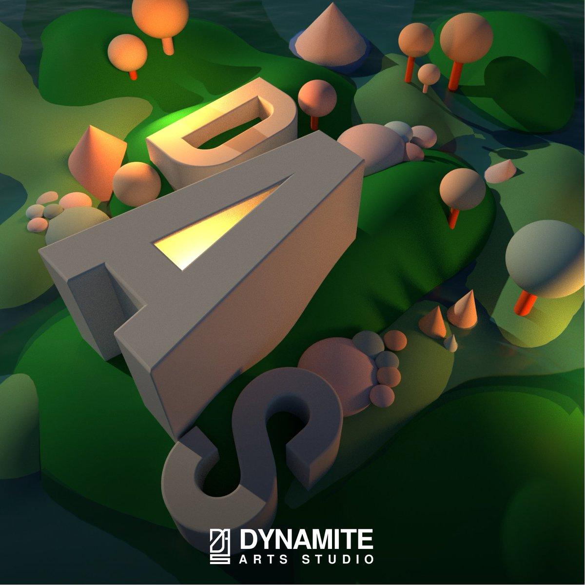 BTS of DAS - Dynamite Arts Studio #3dart  #cinema4d , #ArnoldRender, #Photoshop  #3dmodeling  #3Dartist  #3DModel  #3drender  #3ddesign  #artistontwittter  #designer #designers   #cartoon #CartoonArt  #modernart #designthinking #designinspiration #artwork #stylized