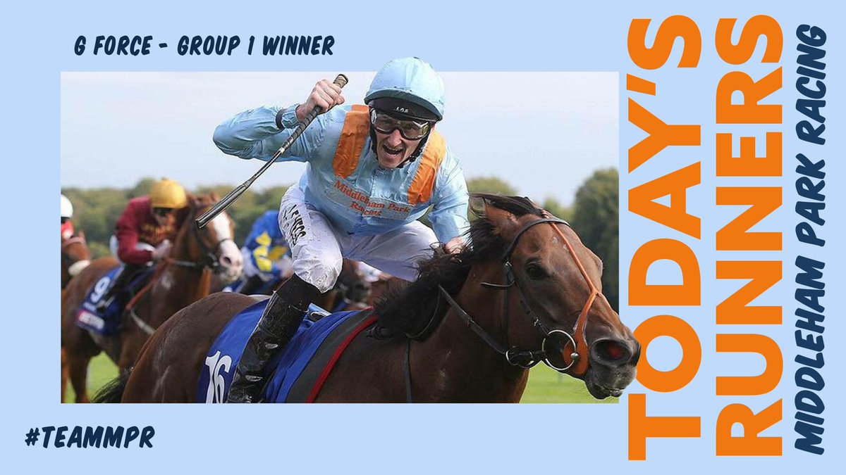 LEXINGTON WARFARE and KING OF TONGA are our first runners of the day at @Redcarracing. Then we head to Glorious @Goodwood_Races as MAGICAL WISH runs in the final race on the card. This evening, KAYFAST WARRIOR and MOTAWAAFEQ look for victory at @Sandownpark. Good luck!  #TeamMPR