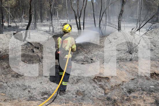 Bones notícies @bomberscat donen per extingit el foc de Ventalló. Evitem futurs incendis, màxima precacució.