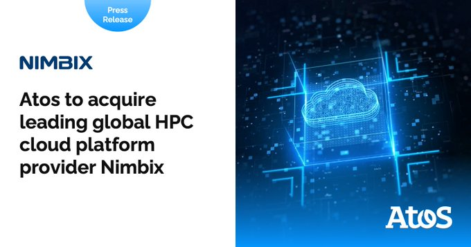 The acquisition of Nimbix helps us accelerate on Cloud HPC and HPC-as-a-service.Our aim: simpl...