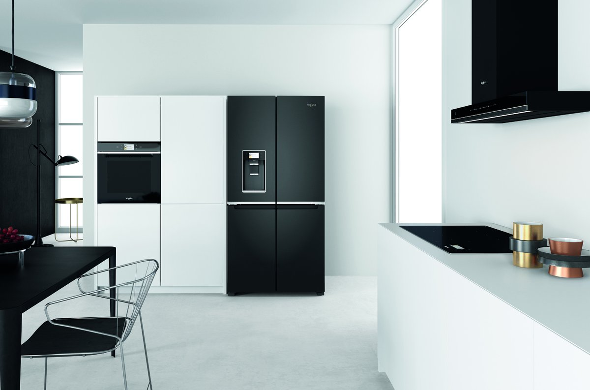 test Twitter Media - Interested in upgrading your fridge freezer to a smarter model? Finished in elegant black stainless steel, the Whirlpool W Collection 4 Doors fridge freezer (WQ9I FO1BX UK) can be controlled via the Whirlpool 6TH SENSE Live® app.   Find out more here: https://t.co/AGvPdT0x7B https://t.co/ZRNF675Ro1
