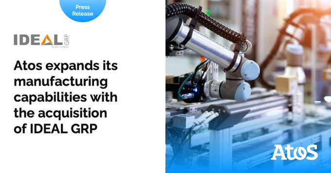 Atos and IDEAL GRP help companies improve by leveraging data collected all across the...
