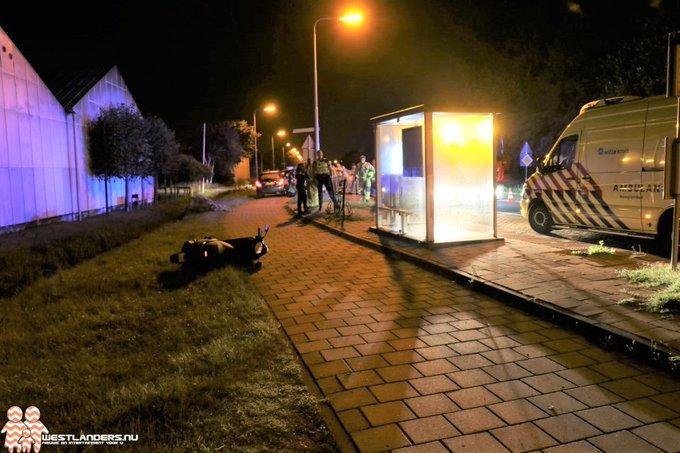 Scooterrijdster aangereden op Noordlandseweg (update) https://t.co/3sVNleOyDw https://t.co/moBy9WphQf