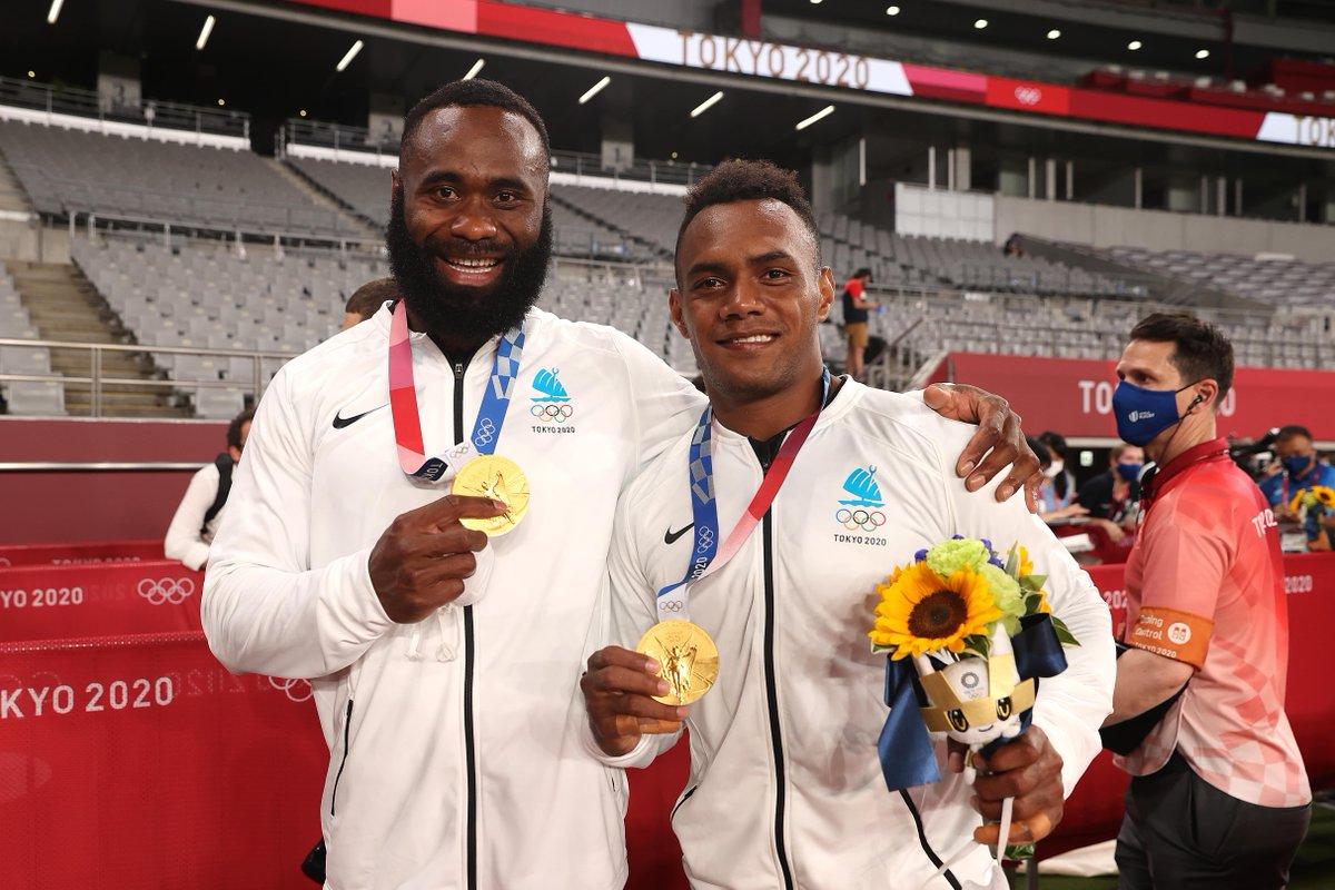 test Twitter Media - Semi Radradra, Olympic champion 🥇  Fiji were a joy to watch at #Tokyo2020 https://t.co/RAoweHvxNn