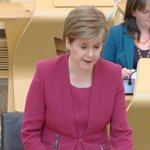 Image for the Tweet beginning: Nicola Sturgeon says she'll make