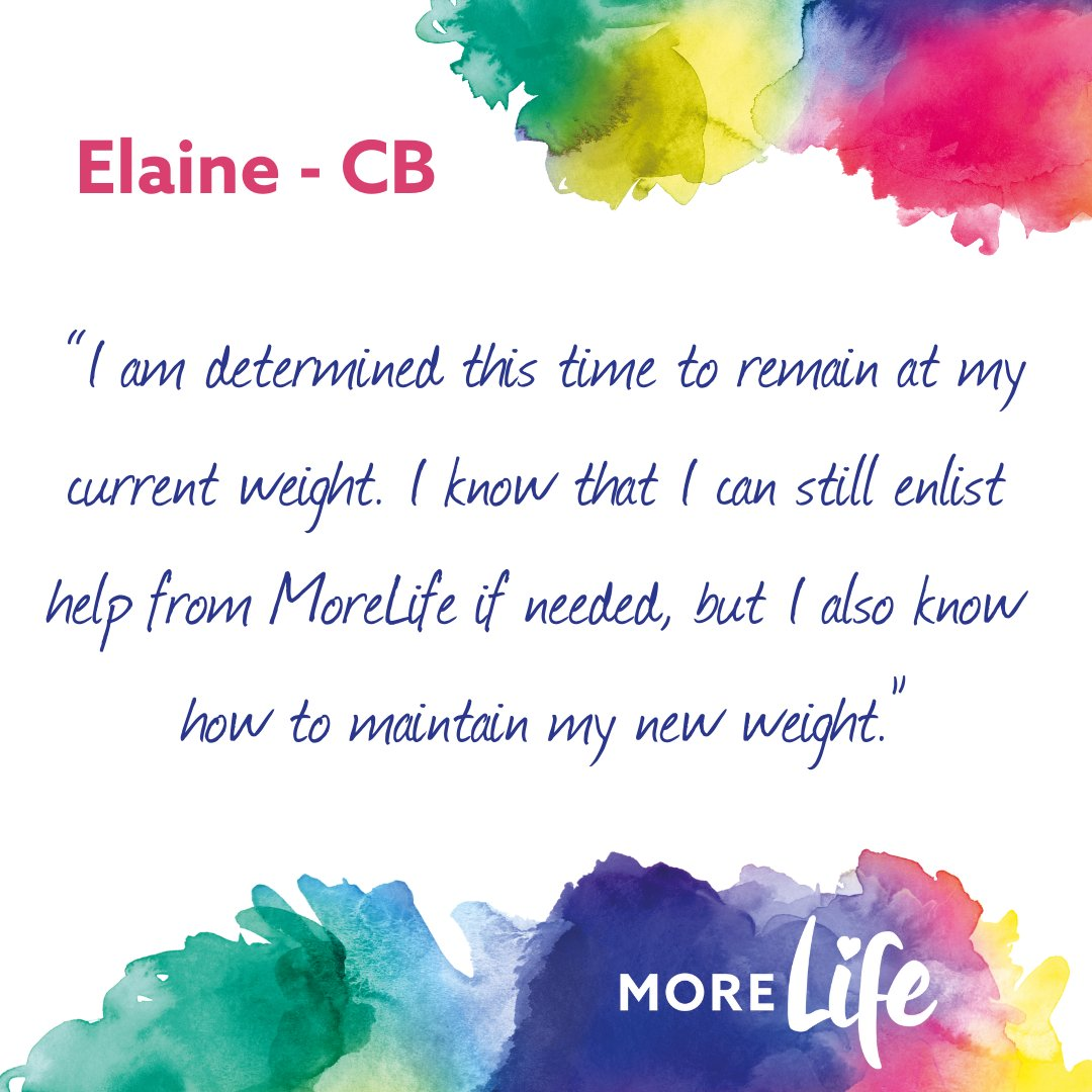RT @MoreLifeBedsMK: Elaine made great strides to improve her health and lose weight. It's never easy to take the first step, but when you d…