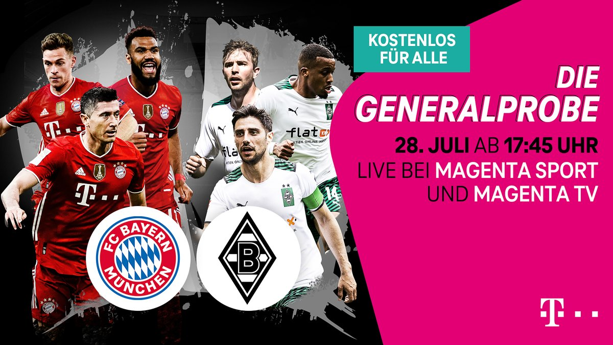 Bayern Munich vs M'gladbach Full Match & Highlights 28 July 2021