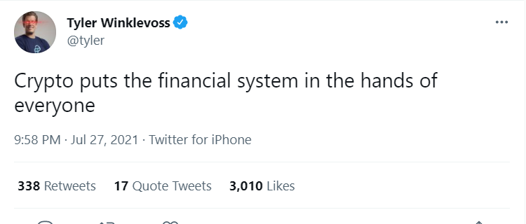 It's funny because... Nope, no 'because.' Tt's just funny😂 @tyler @SenWarren #cryptocurrency #btc #RallyTheValley https://t.co/quRaPbbt6C